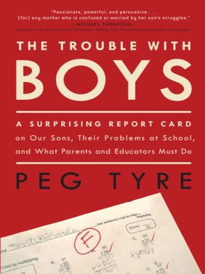 cover image of The Trouble with Boys