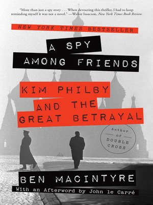 cover image of A Spy Among Friends