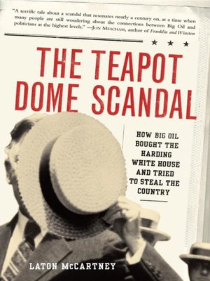 cover image of The Teapot Dome Scandal