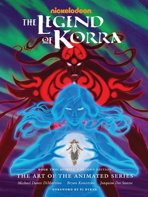 cover image of The Legend of Korra: The Art of the Animated Series, Book Two