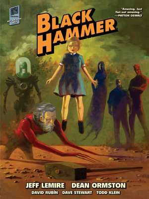 cover image of Black Hammer (2016), Library Volume 1