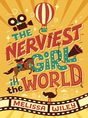 cover image of The Nerviest Girl in the World