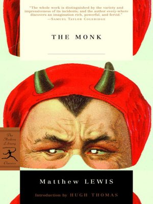 cover image of The Monk