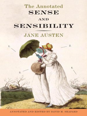 cover image of The Annotated Sense and Sensibility