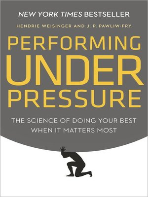 cover image of Performing Under Pressure