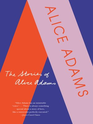 cover image of The Stories of Alice Adams