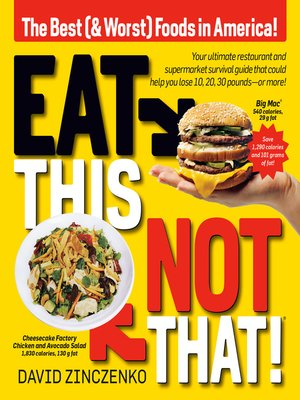 cover image of Eat This, Not That
