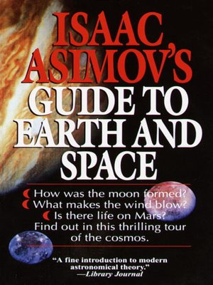 cover image of Isaac Asimov's Guide to Earth and Space