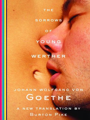 cover image of The Sorrows of Young Werther