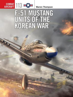 cover image of F-51 Mustang Units of the Korean War