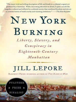 cover image of New York Burning