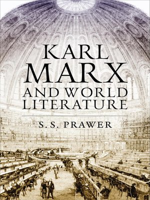 cover image of Karl Marx and World Literature