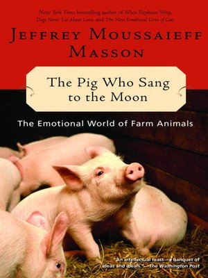 cover image of The Pig Who Sang to the Moon
