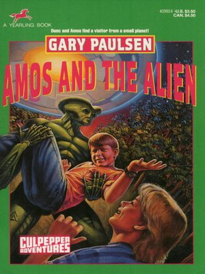 cover image of Amos and the Alien