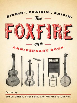 cover image of The Foxfire 45th Anniversary Book