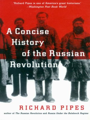 cover image of A Concise History of the Russian Revolution