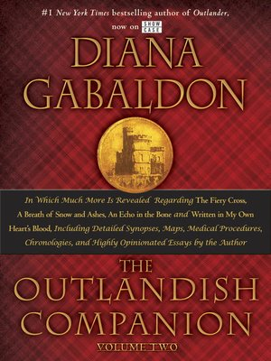 cover image of The Outlandish Companion, Volume 2