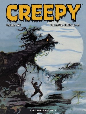 cover image of Creepy Archives, Volume 5