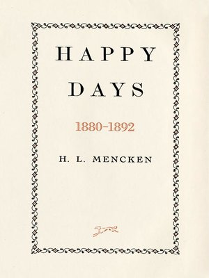 cover image of Happy Days