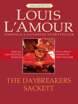 cover image of The Daybreakers & Sackett (2-Book Bundle)