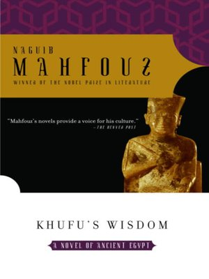 cover image of Khufu's Wisdom