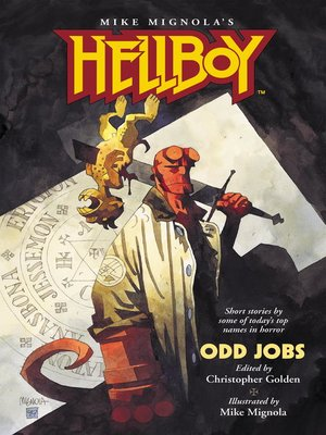 cover image of Hellboy: Odd Jobs