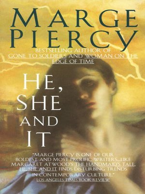 cover image of He, She and It
