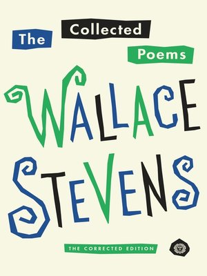 cover image of The Collected Poems of Wallace Stevens