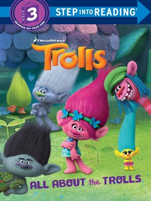 cover image of Trolls Deluxe Step into Reading with Stickers