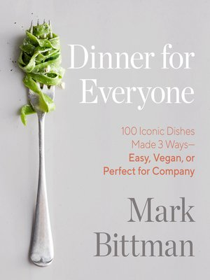 cover image of Dinner for Everyone