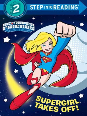 cover image of Supergirl Takes Off!