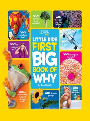 cover image of National Geographic Little Kids First Big Book of Why