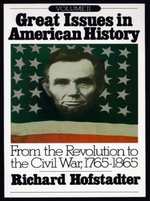 cover image of Great Issues in American History, Volume 2