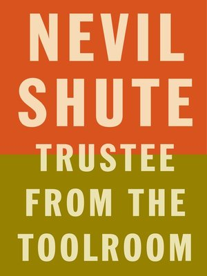 cover image of Trustee from the Toolroom