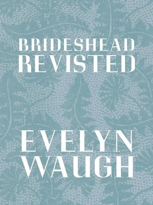 cover image of Brideshead Revisited