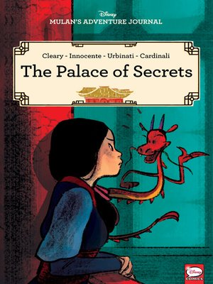 cover image of Disney Mulan's Adventure Journal: The Palace of Secrets