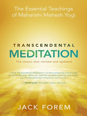 cover image of Transcendental Meditation