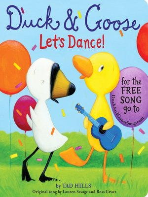 cover image of Duck & Goose, Let's Dance!