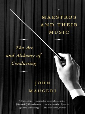 cover image of Maestros and Their Music