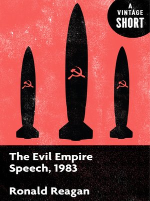 cover image of The Evil Empire Speech, 1983