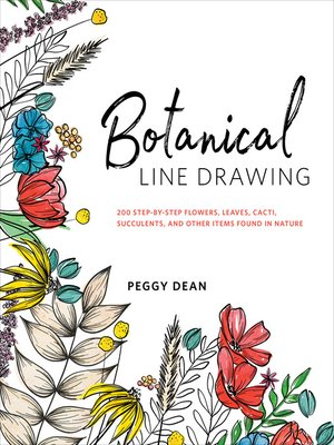 cover image of Botanical Line Drawing