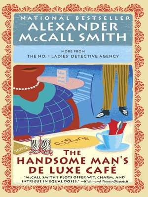 cover image of The Handsome Man's Deluxe Cafe