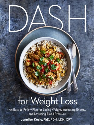 cover image of DASH for Weight Loss