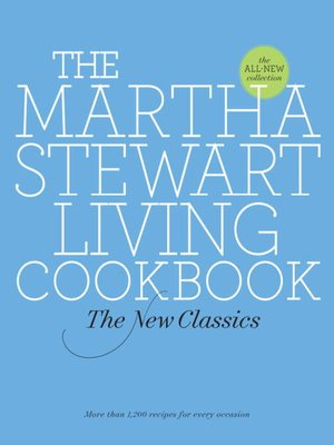 cover image of The Martha Stewart Living Cookbook