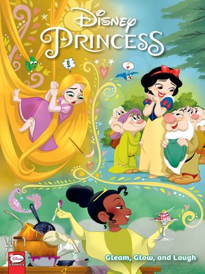 cover image of Disney Princess: Gleam, Glow, and Laugh