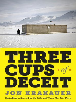 cover image of Three Cups of Deceit