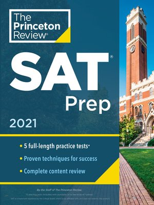 cover image of Princeton Review SAT Prep, 2021