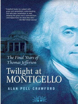 cover image of Twilight at Monticello
