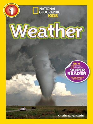 cover image of National Geographic Readers: Weather