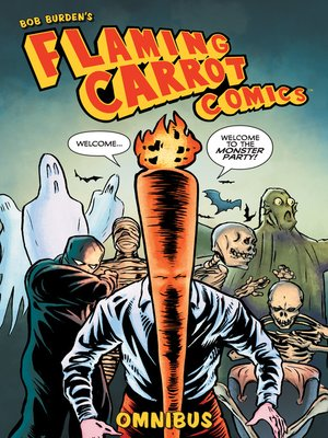 cover image of Flaming Carrot Omnibus